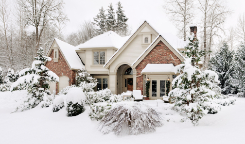 home on the market during the holidays