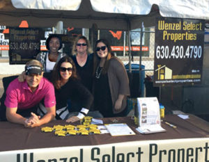 Rotary Grove Fest booth