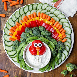 turkey-veggie-tray